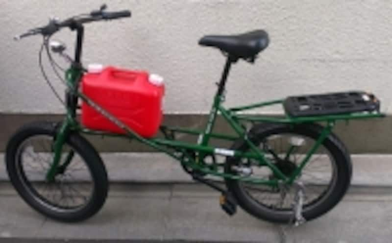 災害用自転車