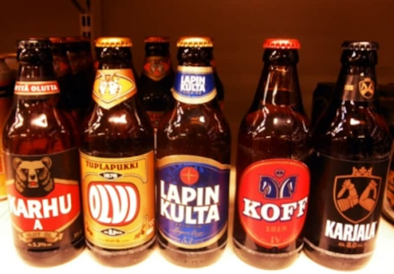 フィンランドのビール