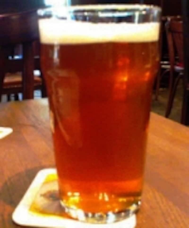 バーのビール