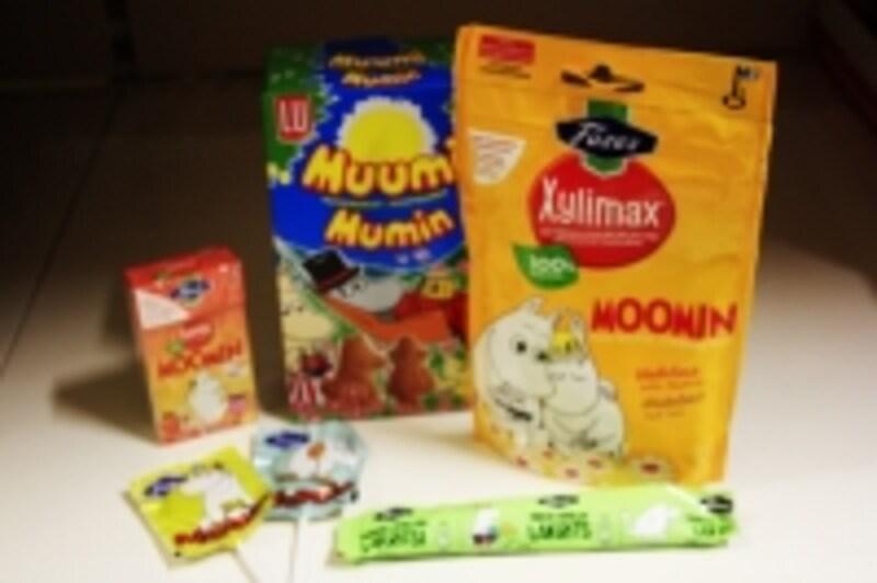 ムーミンお菓子