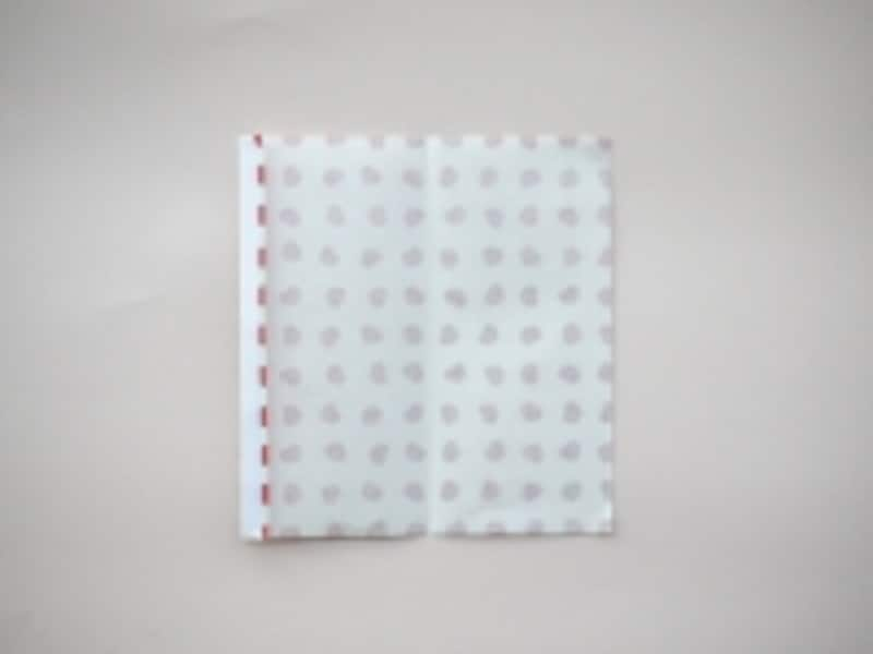 折り紙でつくるテトラ形