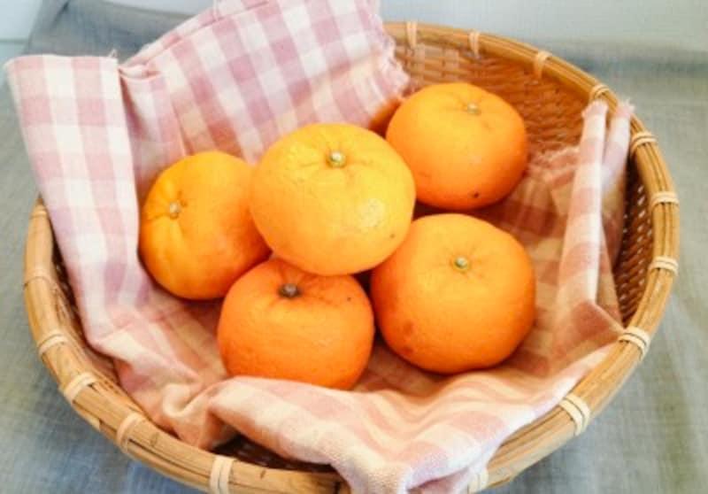 ゆず茶の作り方1柚子の画像