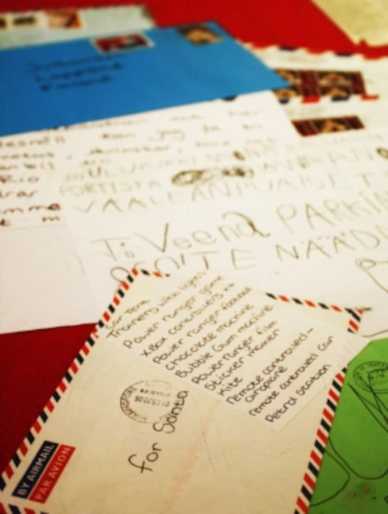 サンタさんへのレター