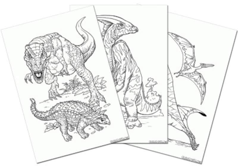 colorkid.netアニマルワールド・恐竜
