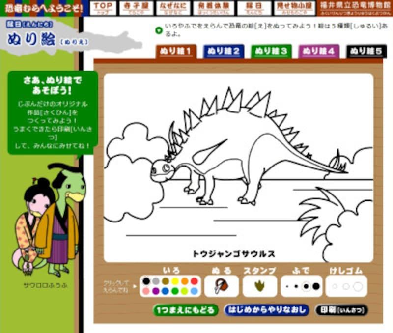 福井県立恐竜博物館恐竜むら