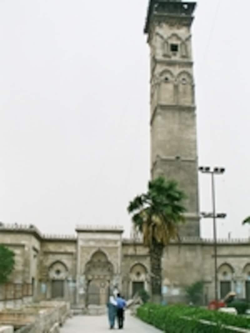 グレート・モスクのミナレット