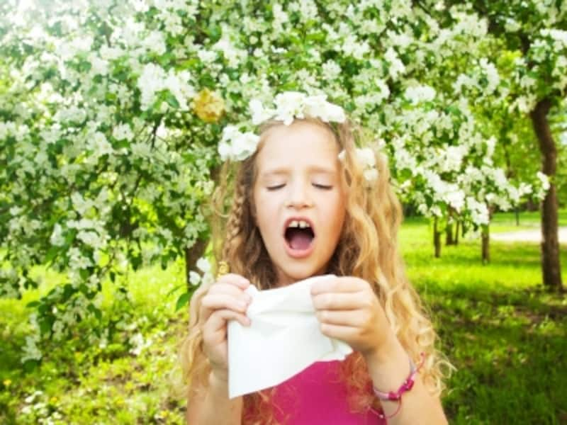 リフレクソロジーで花粉症の症状を和らげる