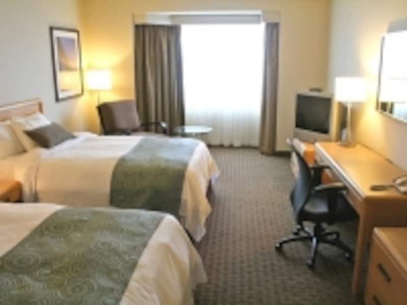 デルタホテルのオリジナル、サンクチュアリーベッド装備(C)DeltaHotelsandResorts