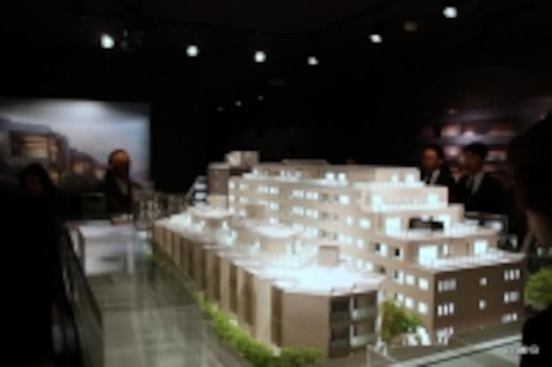 「ザ・パークハウスグラン南青山高樹町」模型