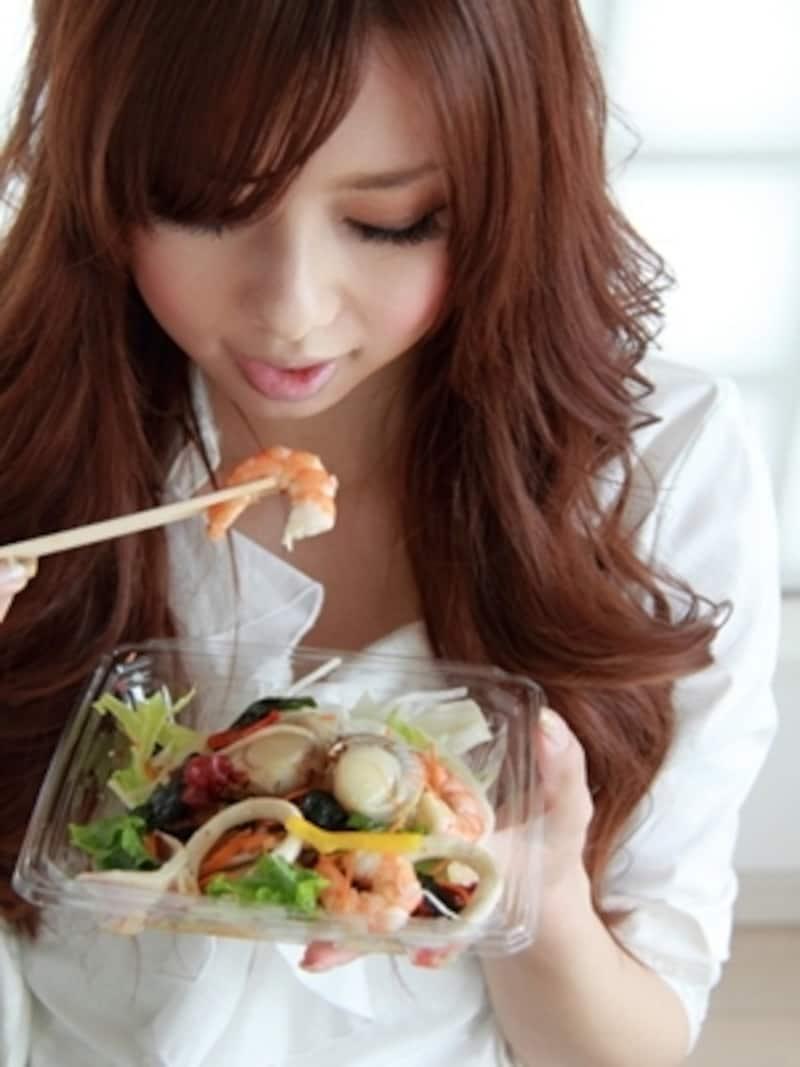 生野菜は体を冷やす作用があるので要注意