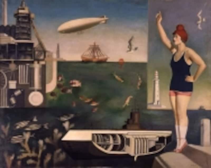 古賀春江《海》1929年東京国立近代美術館蔵