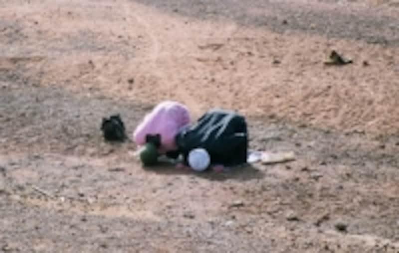 お祈りはイスラム教徒の欠かせない生活の一部