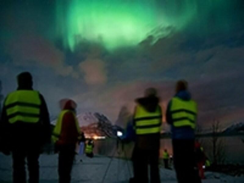 ノルウェーのオーロラツアー