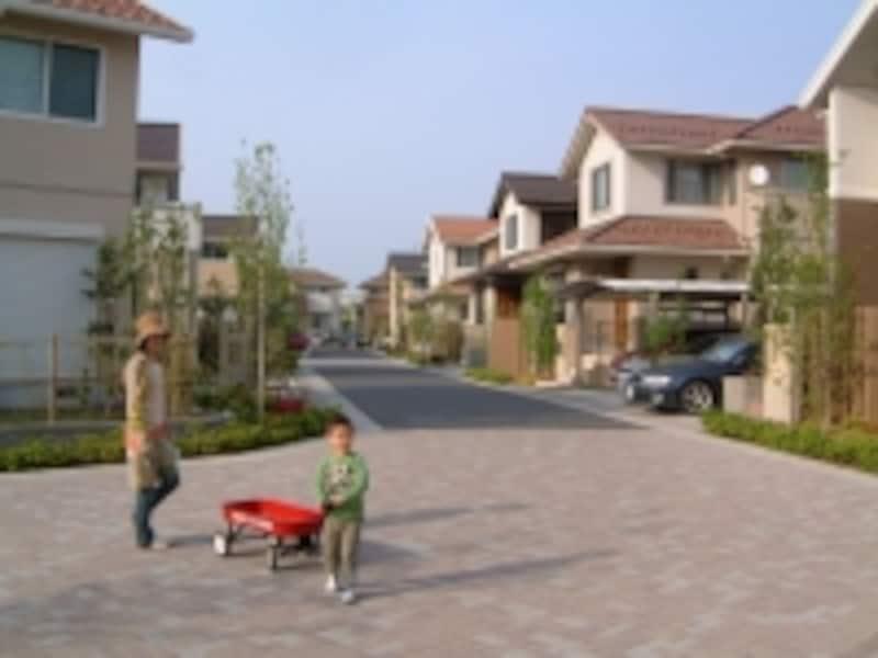 つくばの住宅地
