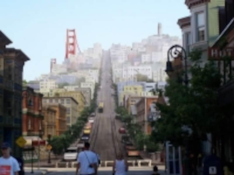サンフランシスコの街並みがそこにある!(C)matanya