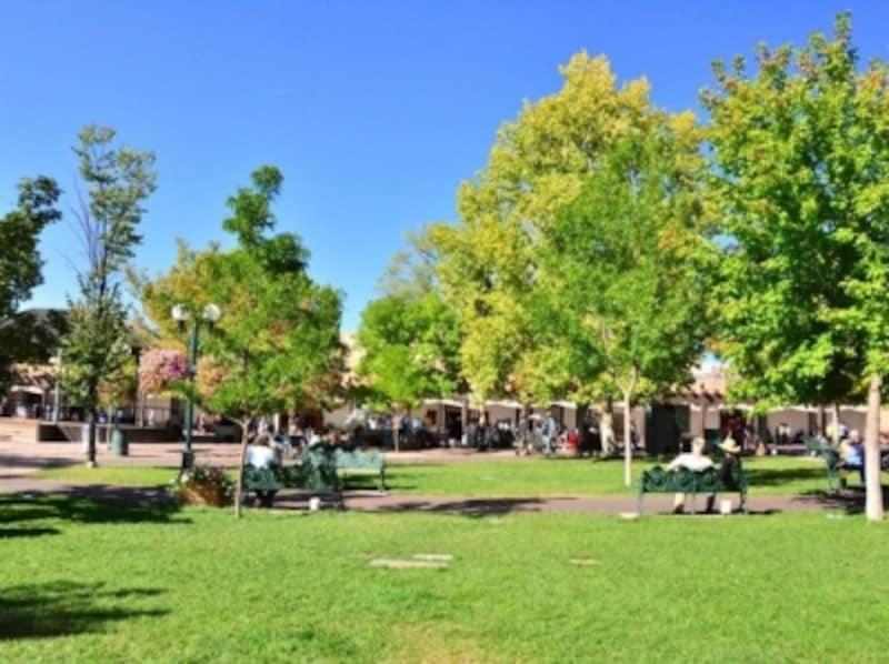 アメリカでは、Wi-Fiが入っている公園も多い。