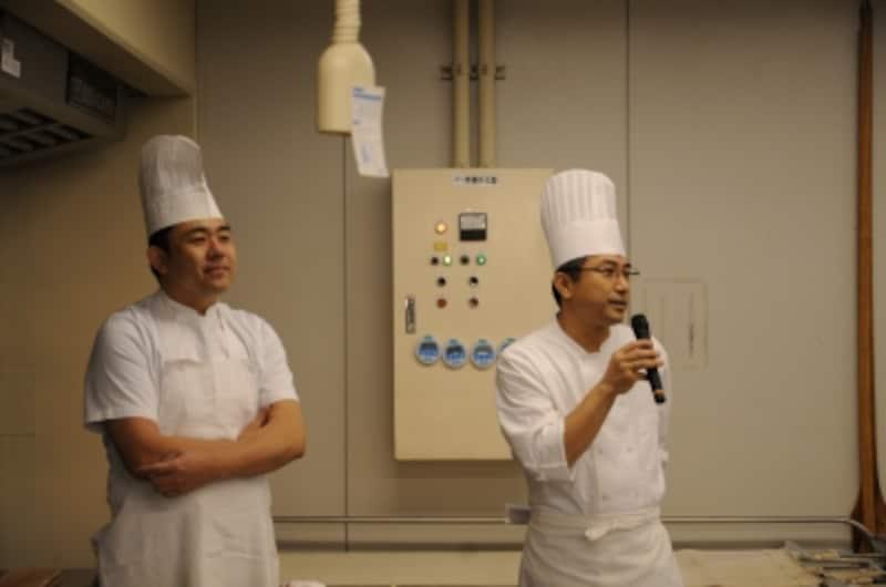 伊原さんと山崎さんは今回は昼食担当
