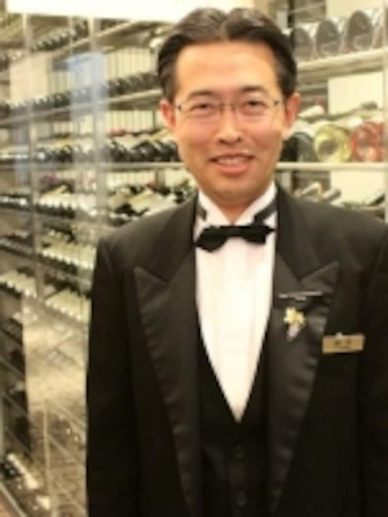 シェフソムリエ鈴木氏