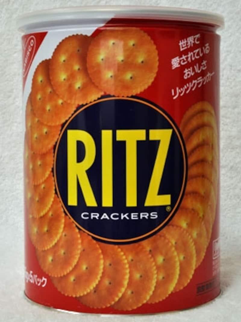 ヤマザキナビスコリッツ缶L