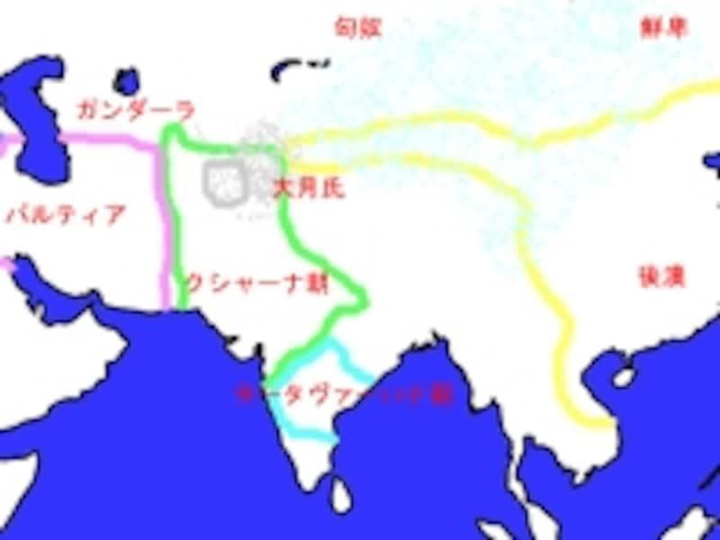 1世紀頃のアジア