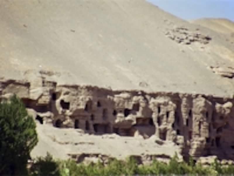 鳴沙山の断崖
