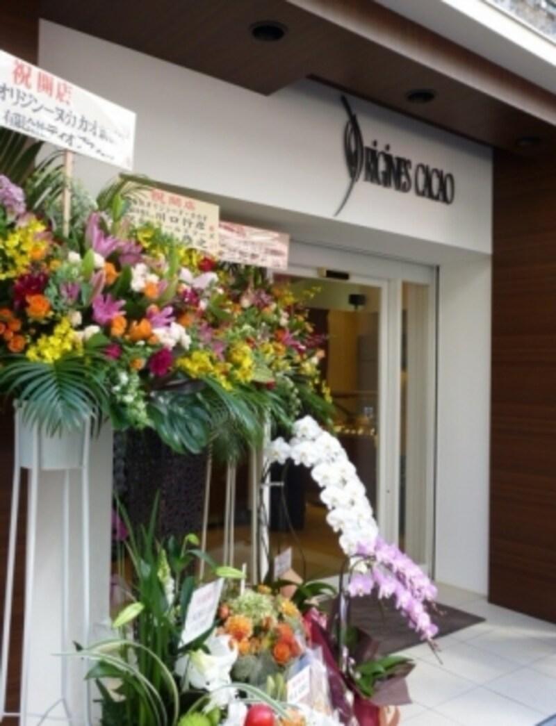 オリジンーヌ・カカオ 新橋店 エントランス
