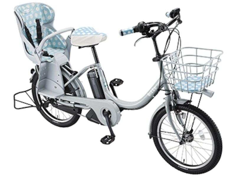 子ども乗せ電動アシスト自転車「bikkee」とチャイルドシート(オプション)の組み合わせ