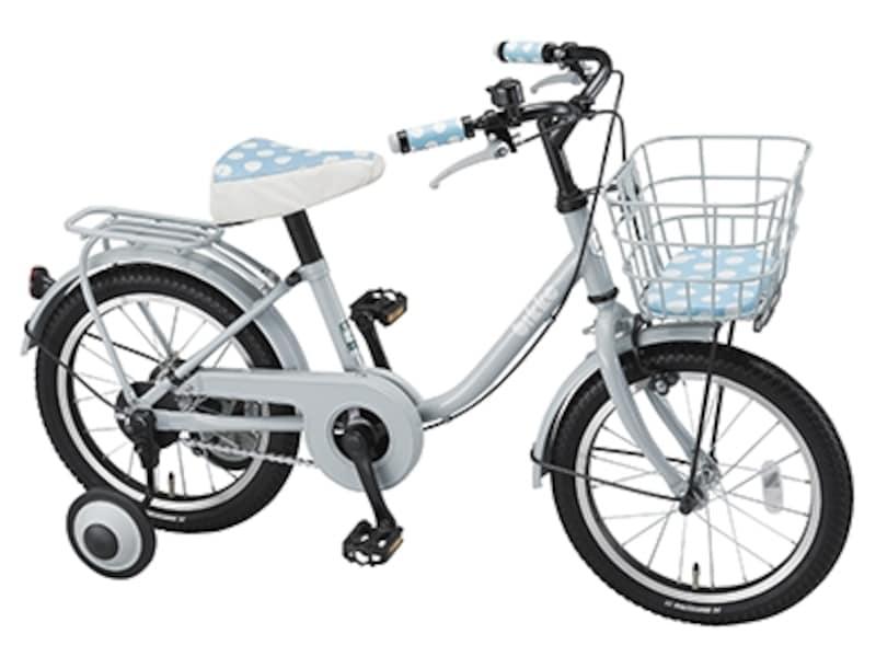 ママとおそろいの幼児用自転車「bikkem」