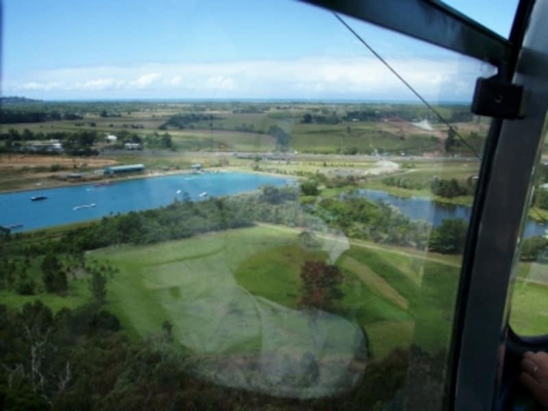 undefinedゴンドラ「スカイレール」からの眺望