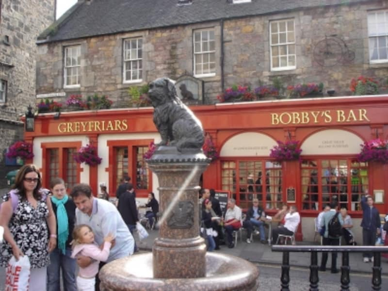 StatueofGreyfriarsBobby(ボビーの像)