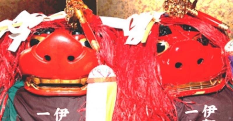 三重県の無形民俗文化財に指定されている獅子神楽