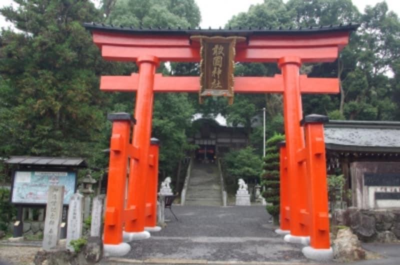 敢國神社(あえくにじんじゃ)