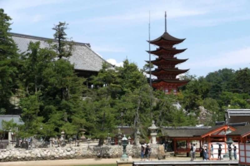 国の重要文化財、千畳閣(豊国神社本殿)
