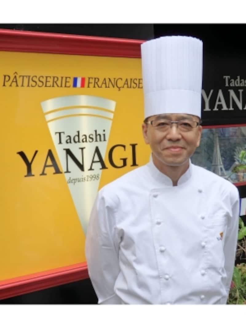 「パティスリータダシヤナギ」の柳正司シェフ