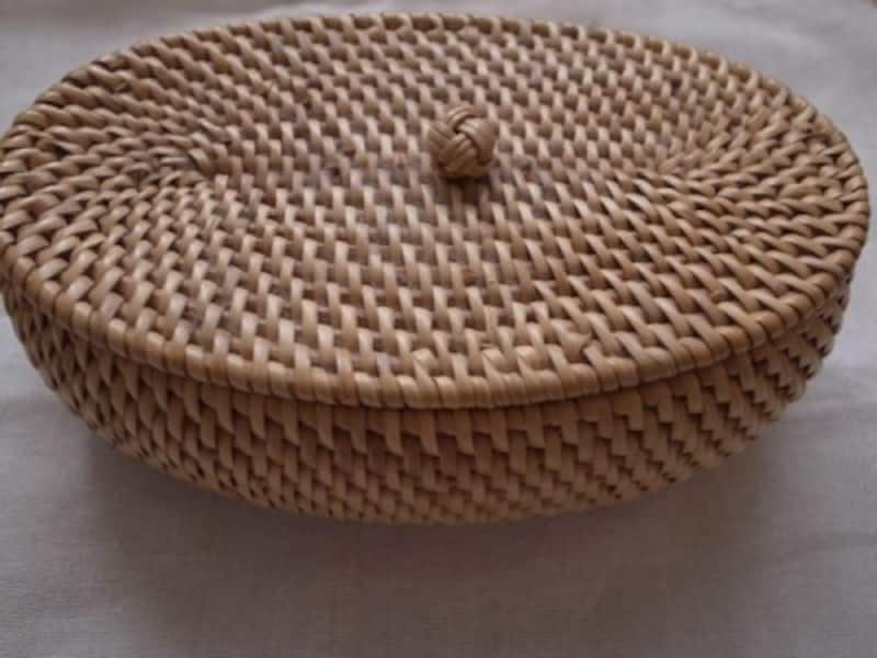 タイの手作りカゴ雑貨