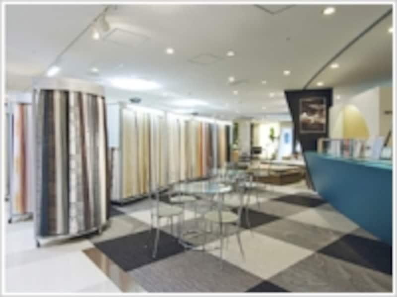 東リundefined東京ショールーム画像undefined東京デザインセンター4Fにあります。