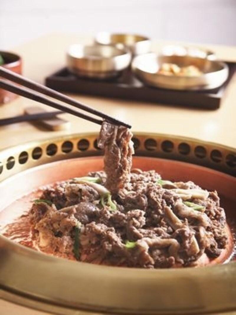 本当に美味しいプルコギに出会ってください!その他カルビなど、焼肉料理にも定評があります(C)Hanilkwang