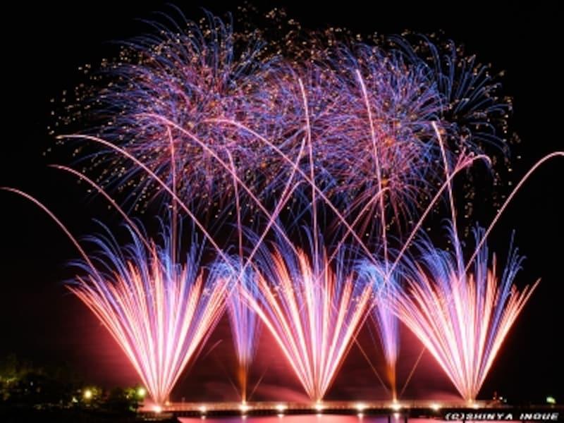 八景島の花火