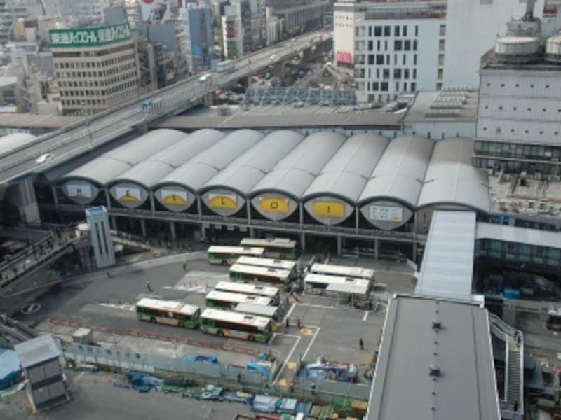 旧東横渋谷駅