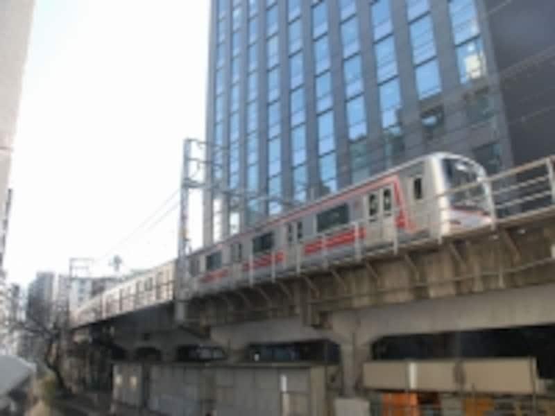 渋谷川付近