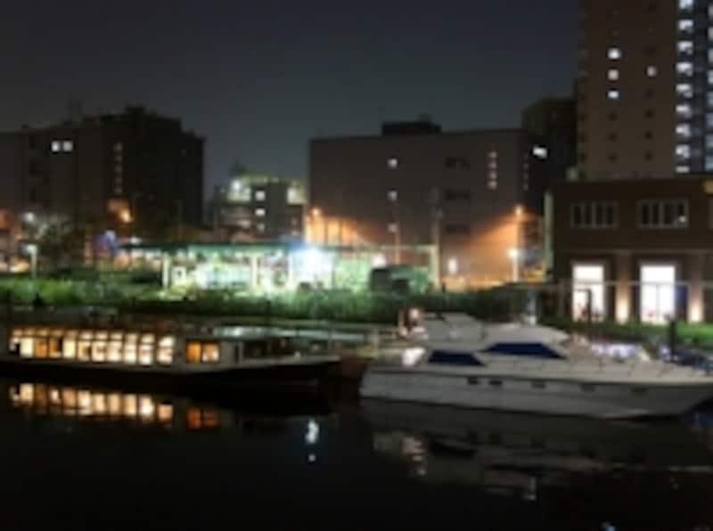 天王洲の乗船場