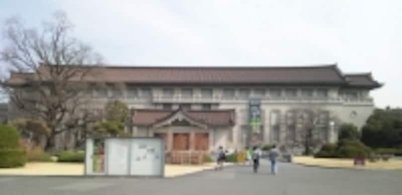 東京国立博物館本館外観