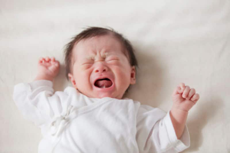 赤ちゃんの泣き方から、泣いている理由を見分けよう