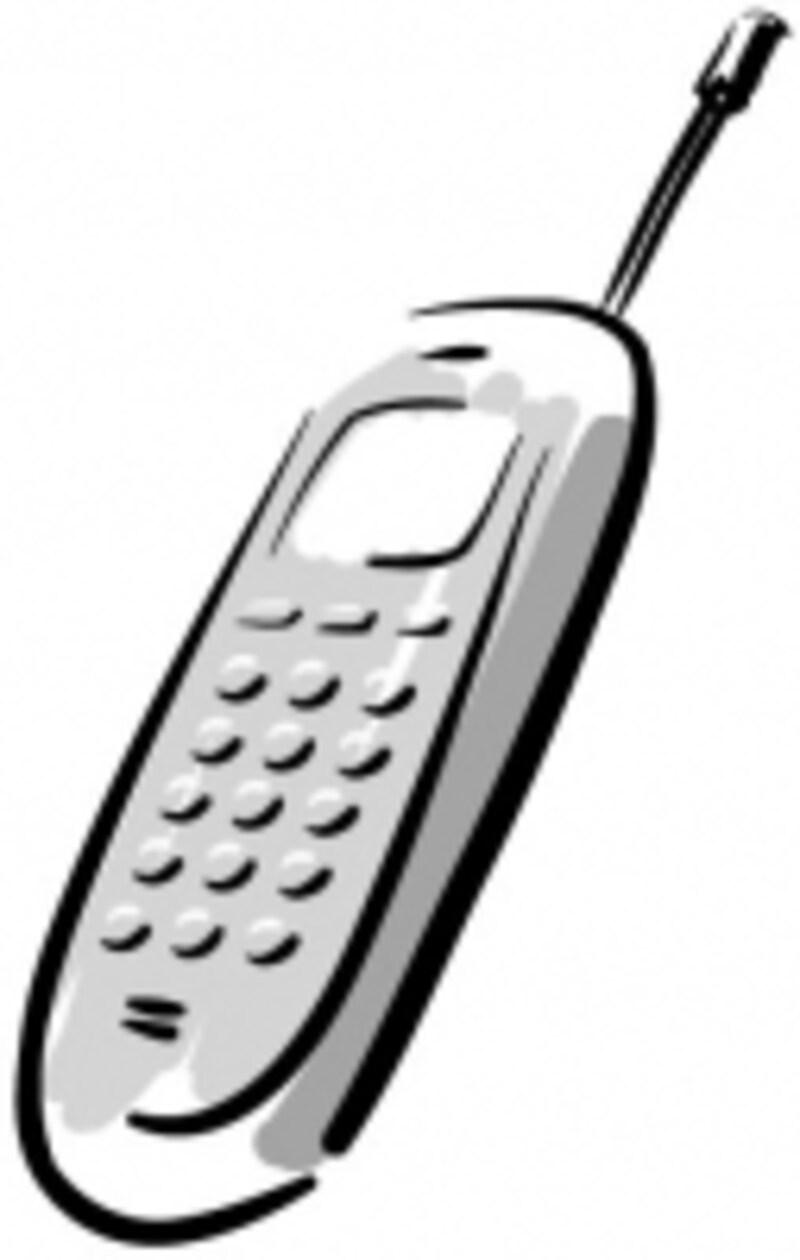 携帯電話の電源はオフに