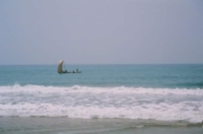 大西洋の大海原は死出の旅