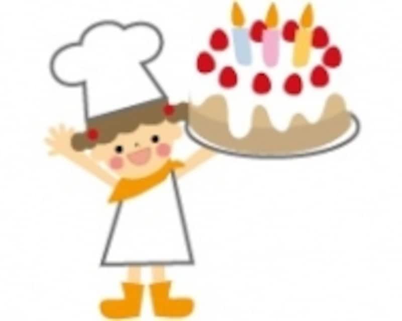 こんなケーキをたくさん作るよ!
