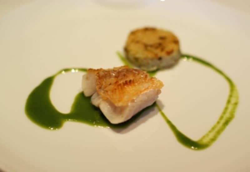 魚料理は「ぐじ(甘鯛)」。