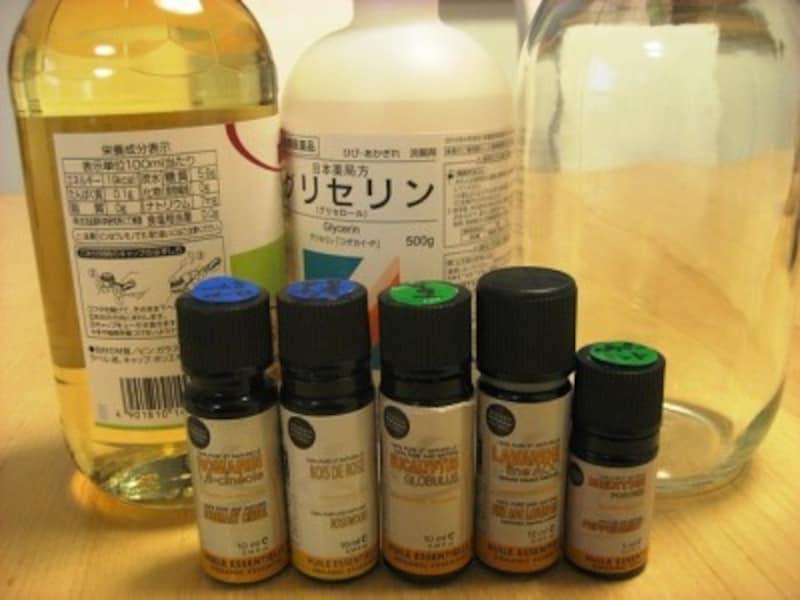 手作りアロマ柔軟剤は、お酢やクエン酸水とグリセリンを活用して手作りします