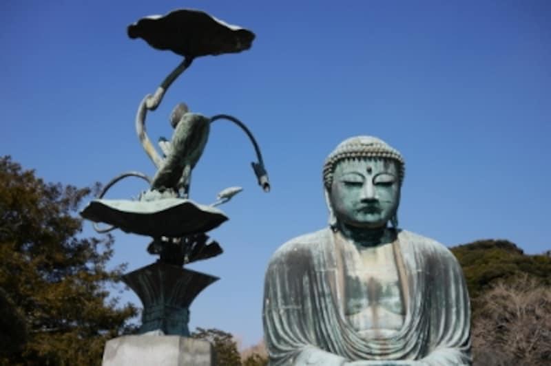 鎌倉大仏のある高徳院