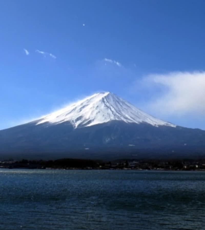 富士山の美しさを間近に楽しめる河口湖